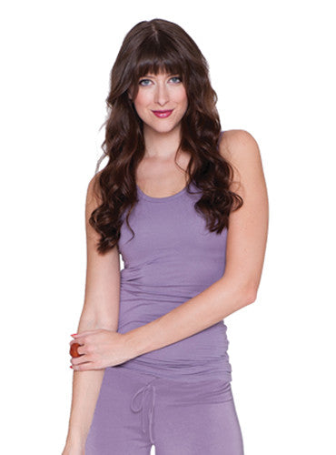 Shelf Bra Tank (Lilac)