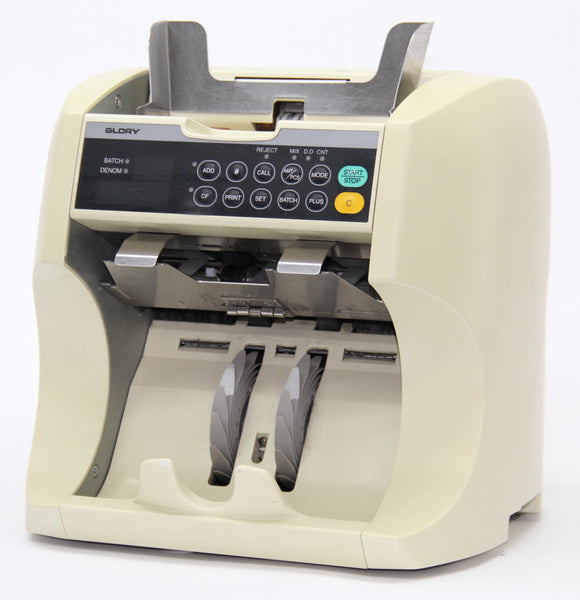 Glory GFR-S80 Currency Counter/Discriminator, Refurbished