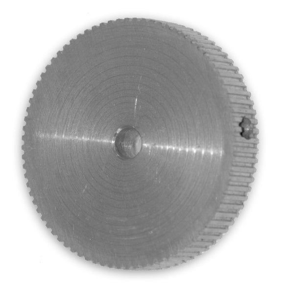 406-0314-00  Aluminum Pulley, Large, Drum Roller, .080 P / 80 T