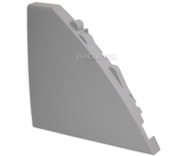 409-0206-20  Left Side Stationary Cover, Gray