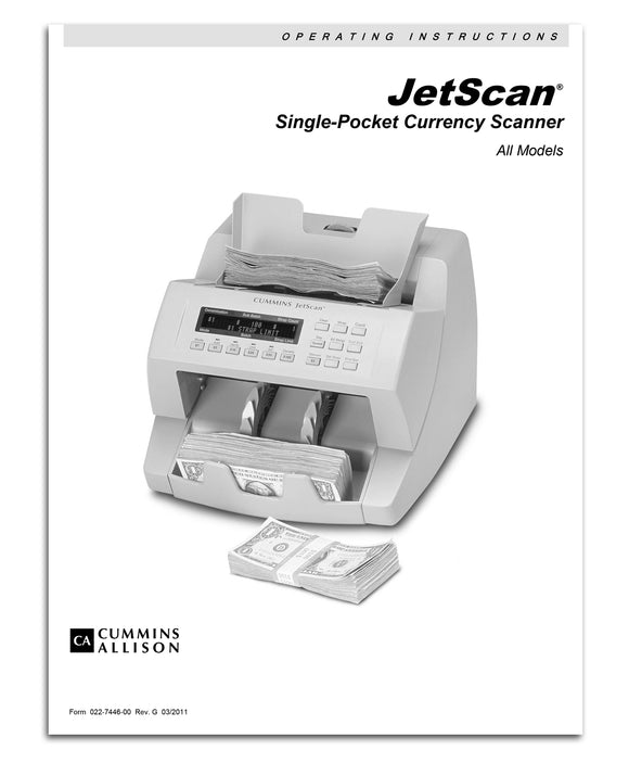 JetScan Operating Instructions