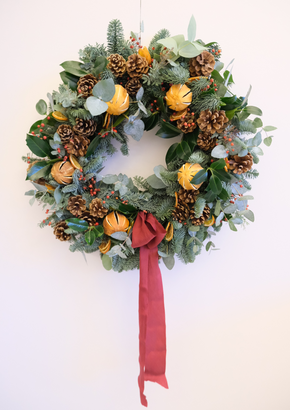 Lux Christmas Wreath