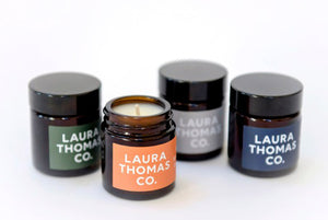 Small candles by Laura Thomas