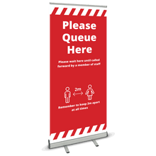 Load image into Gallery viewer, COVID-19 - Roller Banner