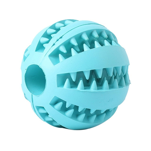INTERACTIVE RUBBER BALL FOR DOG