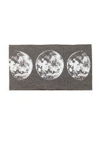 Load image into Gallery viewer, Kids Moon Phase Print Multi Use Headband/Mask in Stone Gray