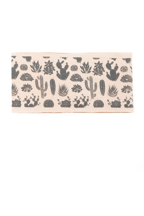 Kids Desert Print Multi Use Headband/Mask in Sand