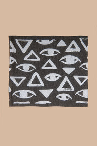 Vision Print Multi Use Headband/Face Mask in Stone Gray