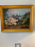 19th C. Oil on Canvas Signed