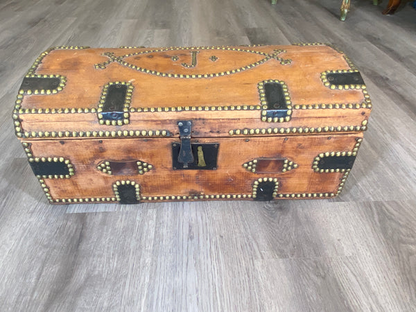 19th C. French Trunk