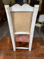 19th C. French Chair Vintage Tapestry Not Original