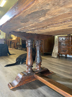 Circa 1800  French Oval Monastery Table