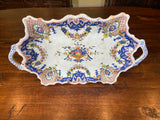 18th Century French Roen Faience Platter