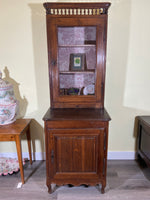 18th C. French Oak Cabinet