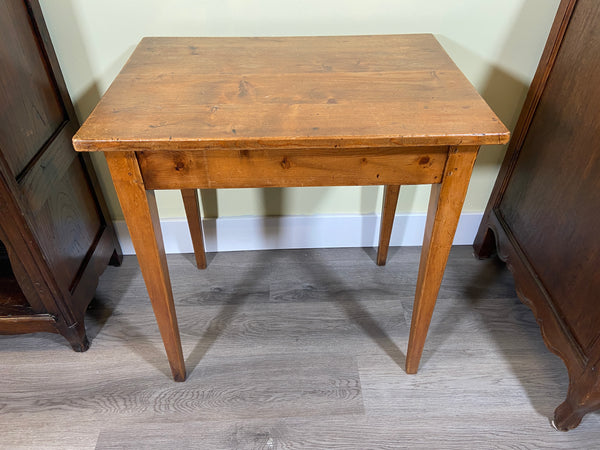 19th Century French Pine Side Table
