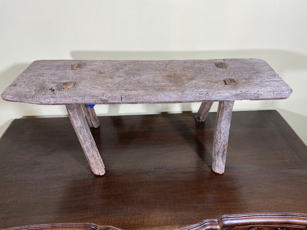 Antique French Pimitive Bench