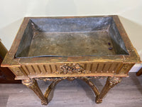 19th C French Gold Gilt Planter