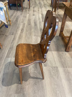 19th C. Oak Childs Chair