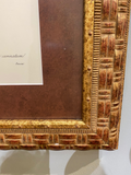 19th C. French Print Custom Frame