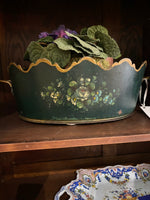 19th C. French Tole Planter
