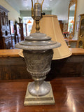 "Matt Shields Replica ""pewter"" Lamp"