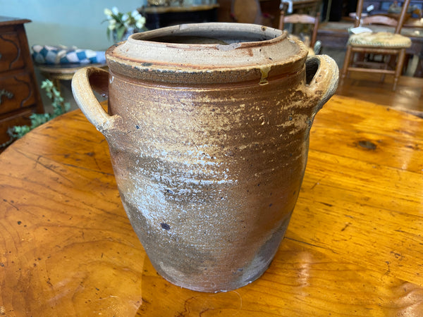 Antique French Pottery Pot