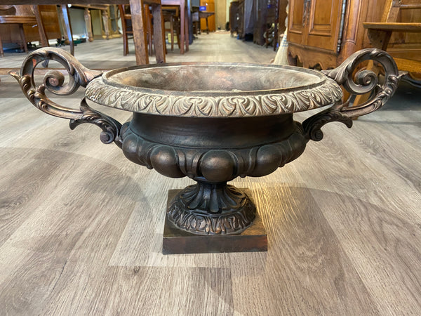 19th C. French Iron Urn