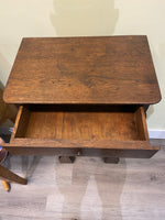 19th Century French Oak Entry Table