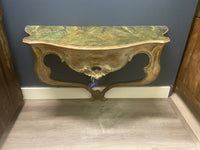 Early 19th C. Gilt Console