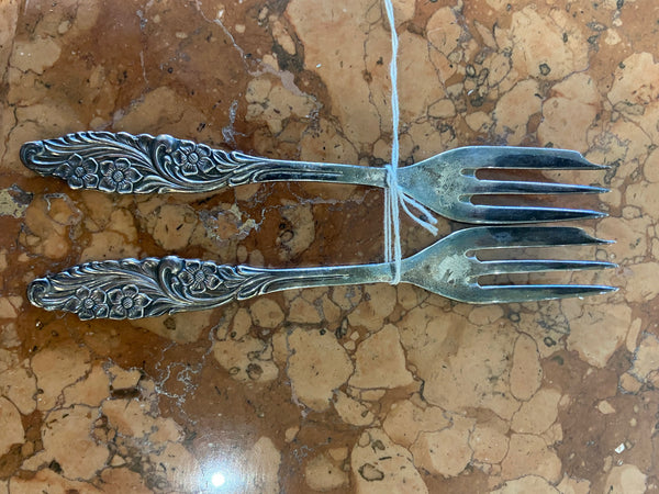 Pair Prima Plate Swedish Forks