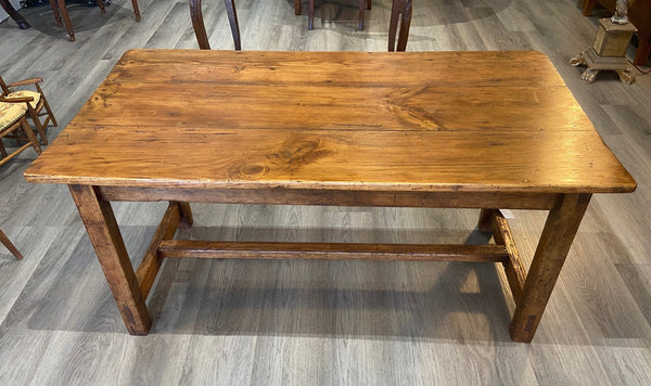 19th  C. French Pine Farm Table
