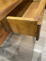 19th Century Pine Table With Drawer