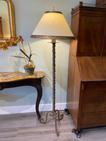 Laura Lee Handcrafted Wrought Iron Floor Lamp