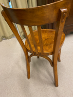 Late 19th C. French Bentwood Bistro Chair