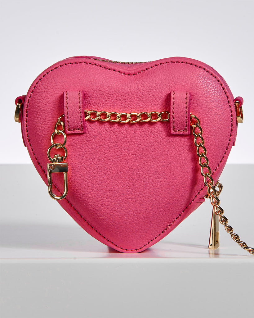Mini Heart Bag Berry