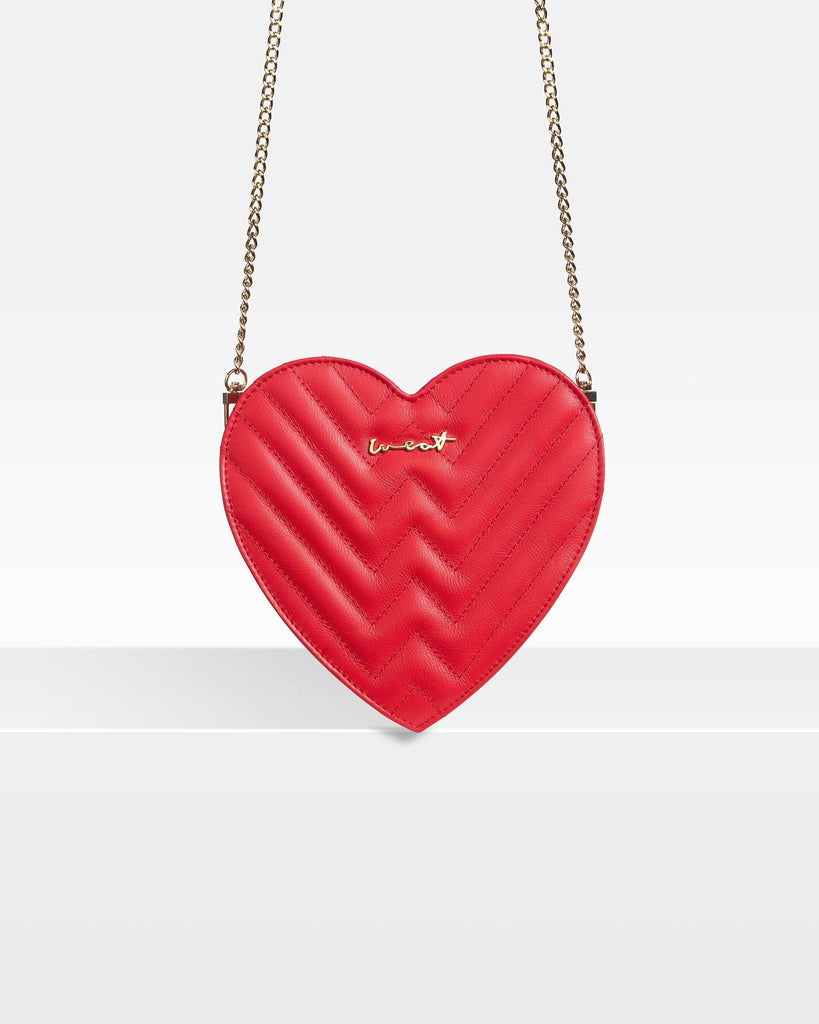 Heart Bag Red