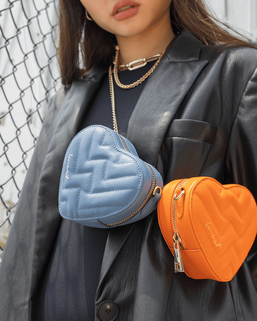 Mini Heart Bag Orange - WEAT EU
