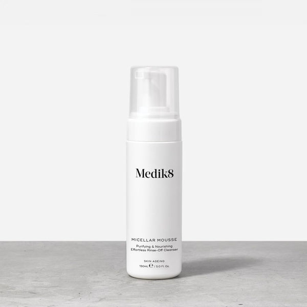 Medik8 Micellar Mousse™  Purifying & Nourishing Effortless Rinse-Off Cleanser