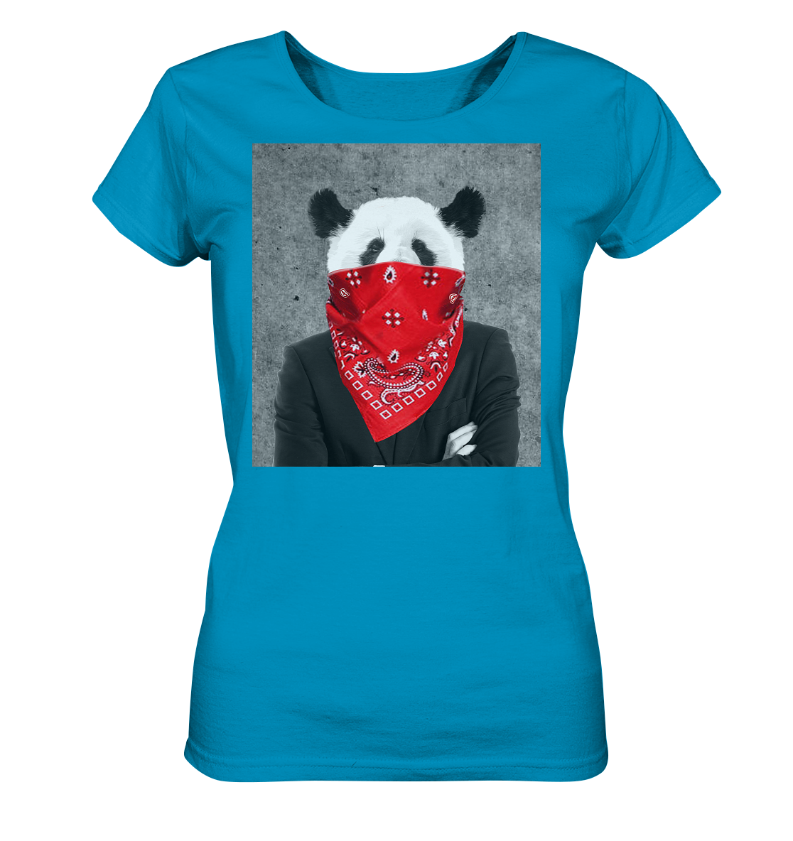 Rebell Panda - Ladies Organic Shirt