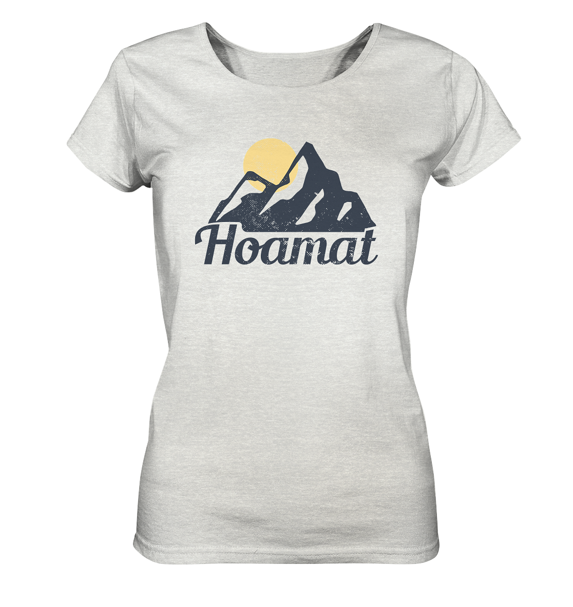 Hoamat - Ladies Organic Shirt (meliert)