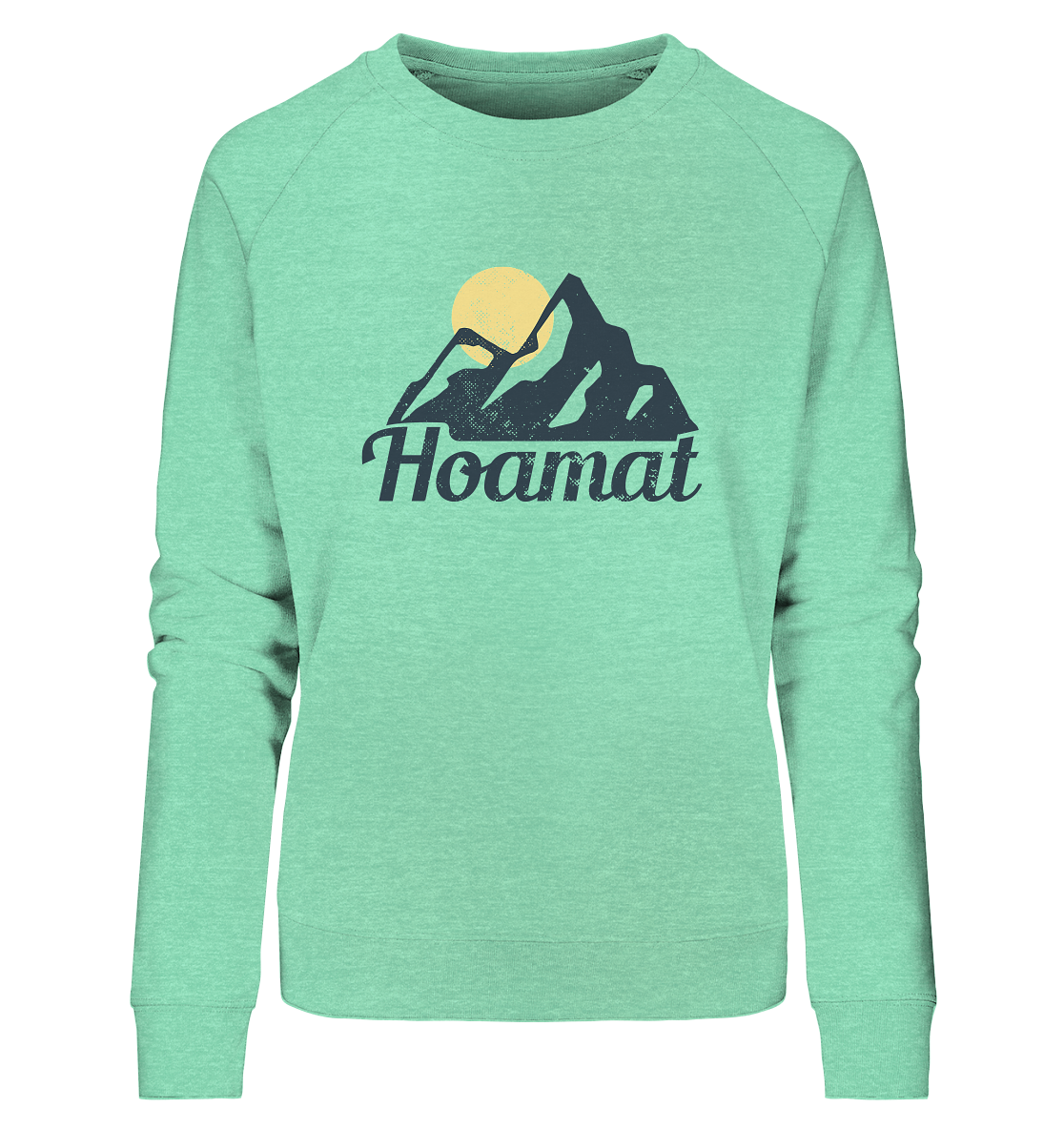 Hoamat - Ladies Organic Sweatshirt