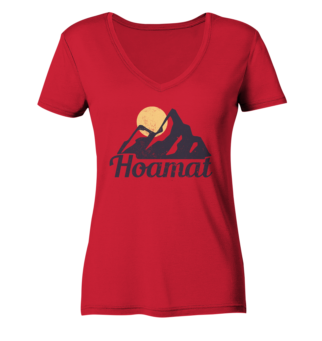 Hoamat - Ladies Organic V-Neck Shirt