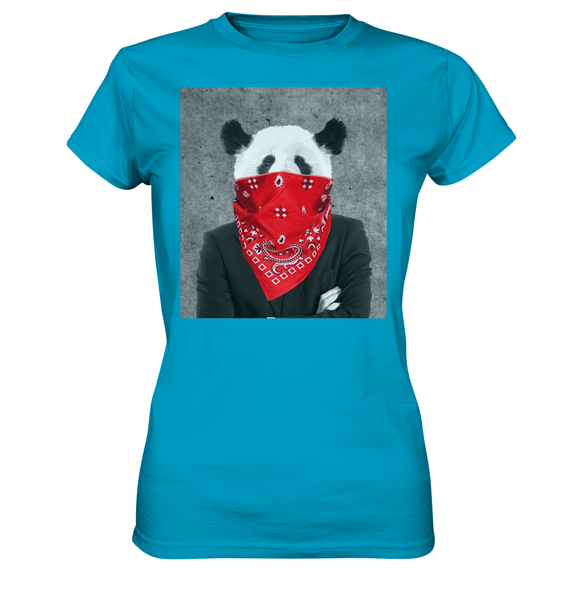 Rebell Panda - Ladies Premium Shirt