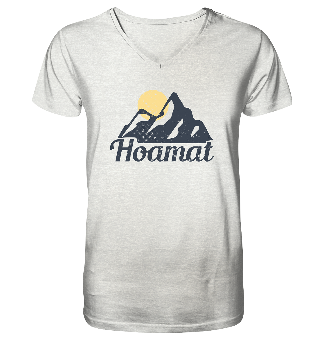 Hoamat - Mens Organic V-Neck Shirt