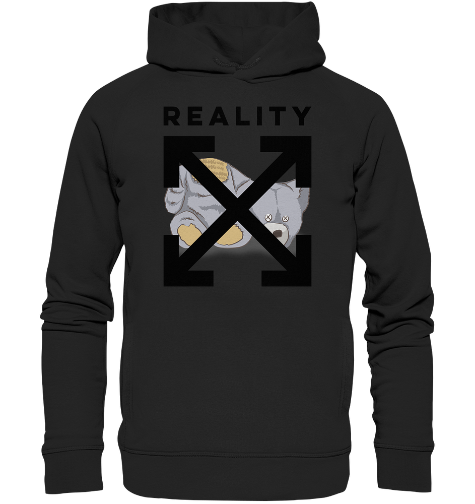 Reality - Organic Fashion Hoodie