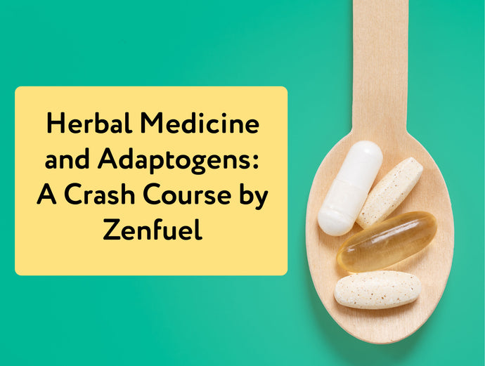 Herbal Medicine and Adaptogens: A Crash Course by Zenfuel