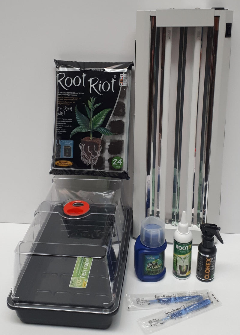 Propagation Starter Kit With T5 Lightwave - Root Riot