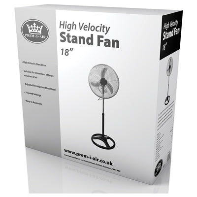 Prem-I-Air High Velocity Pedestal Fan
