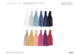 Hello Dolly -gomitolo Sesia - Justknit