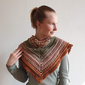 Scialle Earth -gomitolo Justknit - Justknit
